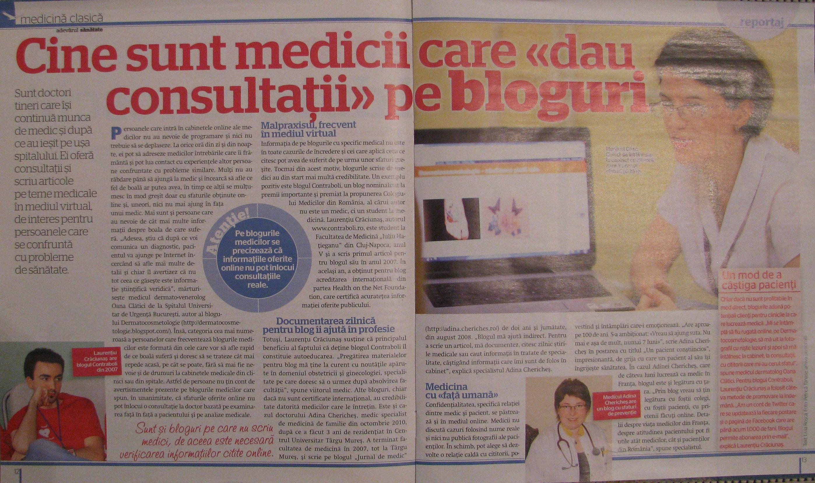 Adevarul Despre Medicii Din Spatele Blogurilor