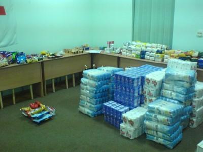 Crucea Rosie Cluj - Camera de depozitare alimente