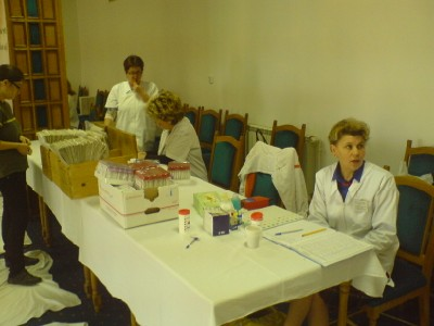 Doneaza sange - asistentele