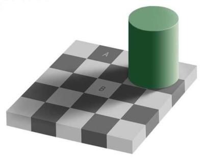 iluzie optica gri