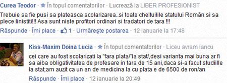 plata studiilor Romania