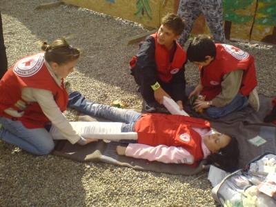 Ziua Internationala a Crucii Rosii - Prim ajutor