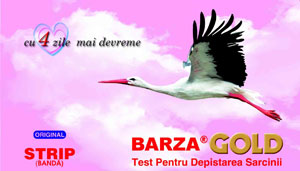 Test de sarcina Barza Strip
