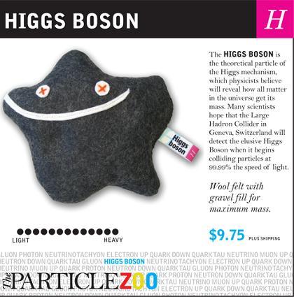 Bozonul Higgs sau Particula lui Dumnezeu