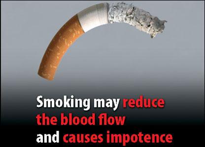 Fumatul afecteaza circulatia sangelui si produce impotenta