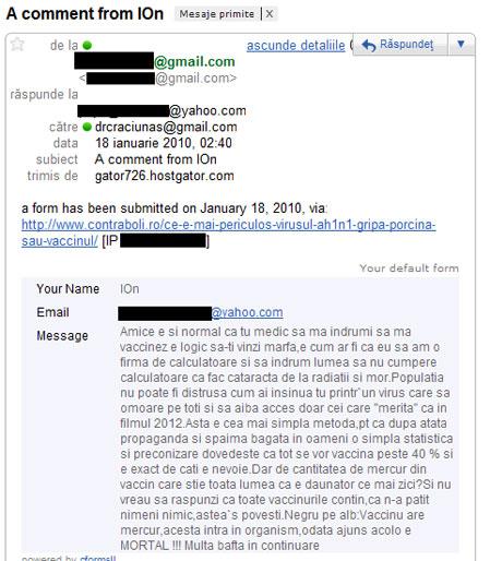 informatii despre mercurul din vaccin