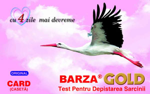 Test de sarcina Barza Card