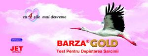 Test de sarcina Barza Jet