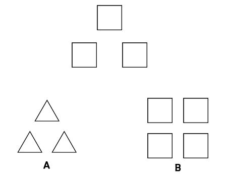 Test psihologic triunghi-patrat